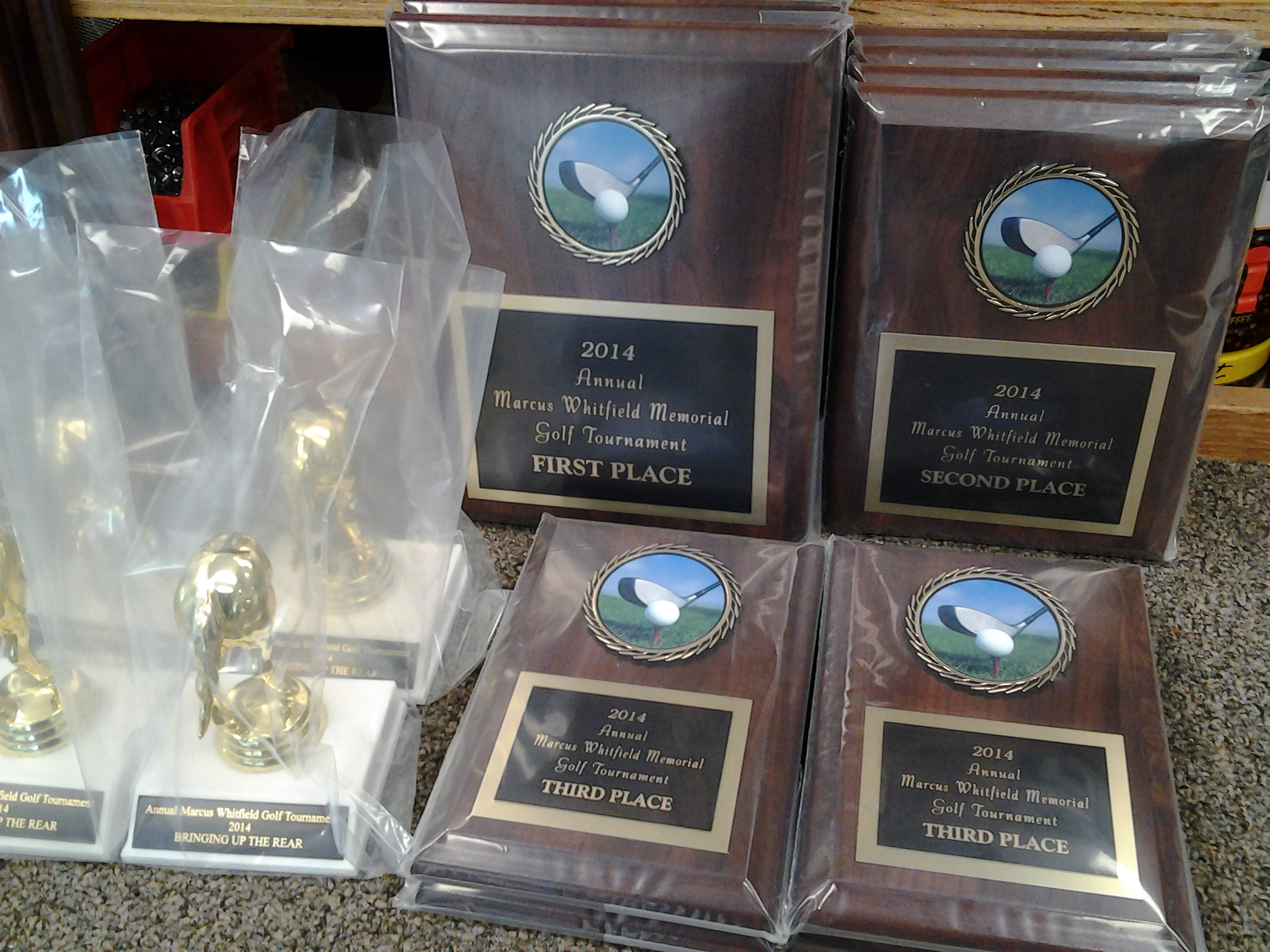 Plaques and Trophies