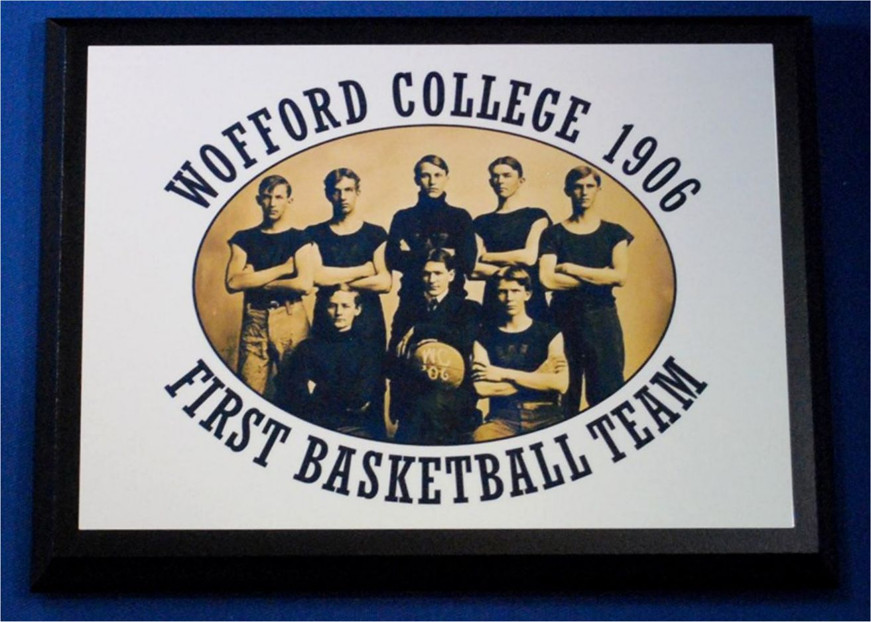 Wofford Plq